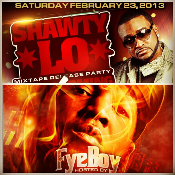 FyeBoy hosts Shawty Lo Mixtape Release Party Feb.23