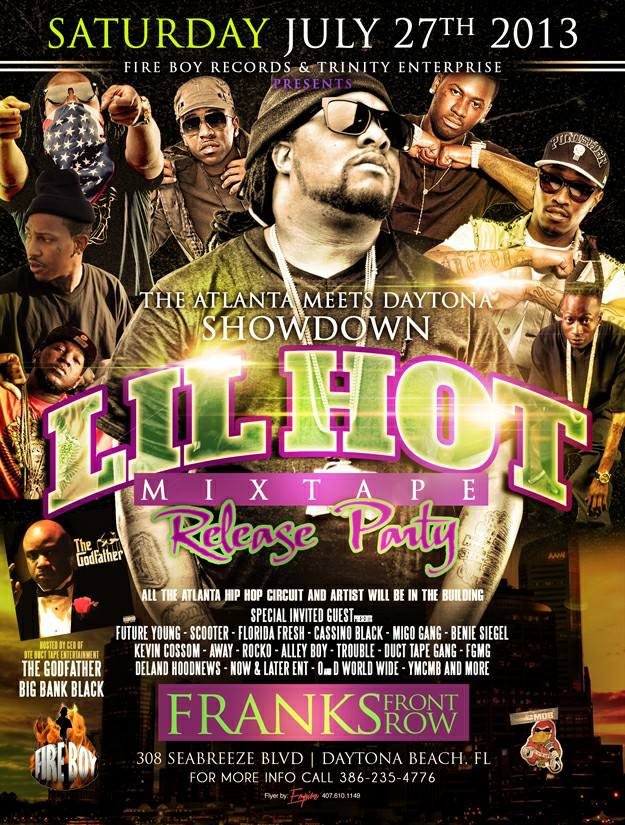 Lil Hot Mixtape Release Party with Fire Boy Records